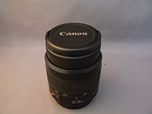 Canon Inc. Canon Zoom Lens EF 35-80mm 1:4-5.6 III (52mm) Canon Camera Lens for Canon EOS Rebel GII (Camera Lens Only, Made in Malaysia Version)
