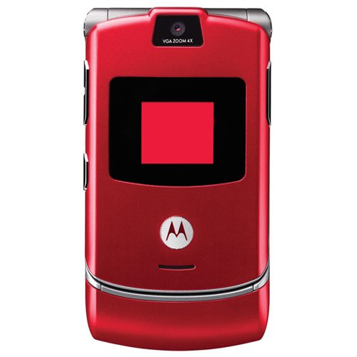 Motorola RAZR V3 Unlocked Phone with Quad-Band GSM Camera and Video Player--International Version with WarrantyB001D7B1NE