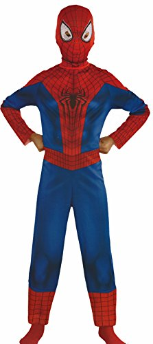 Marvel The Amazing Spider-Man 2 Pieces Children's Child's Boy's Costume with Mask