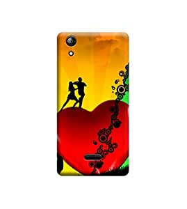 Ebby Premium Printed Back Case Cover With Full protection For Micromax Canvas Selfie 2 Q340 (Designer Case)