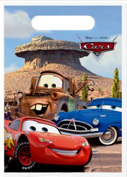 Disney CARS Treat Bags - 8 Count