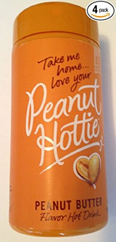 Peanut Hottie Peanut Butter Flavored Hot Drink 9.15 Oz (Pack of 4) (Red Solo Pitcher compare prices)