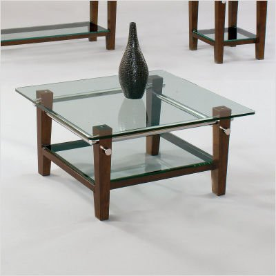 Bassett Mirror Company Luxe Square Coffee Table – T1869130 (B004GNNKHC)
