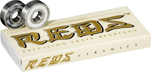 Bones Ceramic Reds Bearings, 8 Pack set (Bearings Bones Ceramic compare prices)