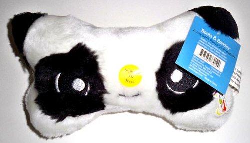 Panda Squeaker Bone Dog Toy