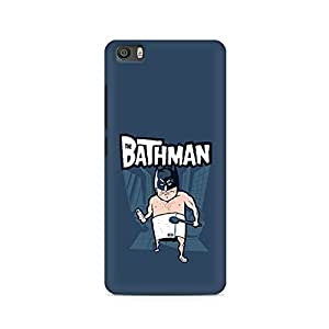 99mBox- Bathman Xiaomi Redmi Mi5 cover -Matte Polycarbonate 3D Hard case Mobile Cell Phone Protective BACK CASE COVER. Hard Shockproof Scratch-