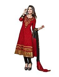 DivyaEmporio Women's Salwar Suit Dupatta Unstitched Dress Material (Free Size) - B00RXEQZ3M