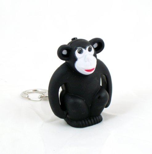 Monkey Keyring Safety Led Light Flashlight Gorilla