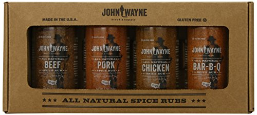 John Wayne Spice Rub Gift Set, 4 Count image