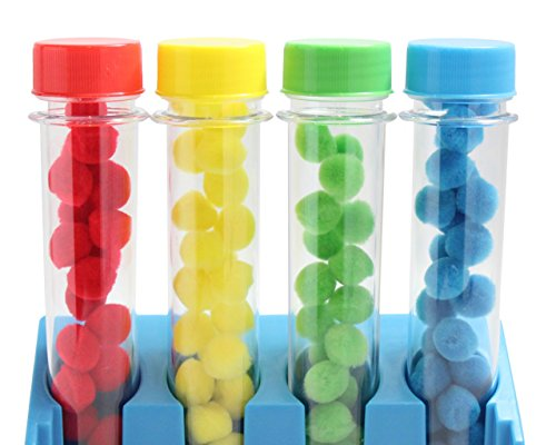 Test Tube Color Sorting Activity for Children - Preschool and Toddler Sorting Activity