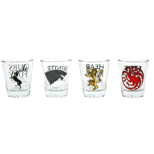 Game of Thrones, Set da 4 bicchieri da shot