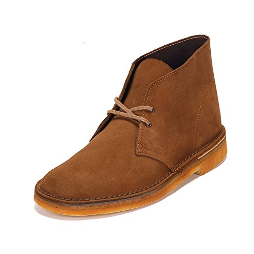 Clarks Originals 26109086 Scarpe stringate Desert Boot, Uomo, Marrone (Cola Suede), 42.5