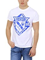 Diesel Camiseta Manga Corta T-Scod (Blanco)