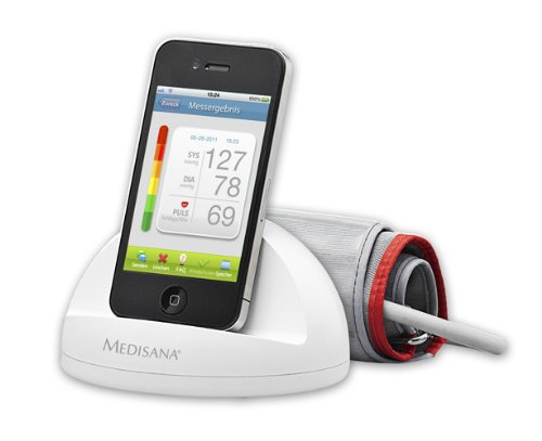 Medisana iheath bloodpressure monitor for iPhone