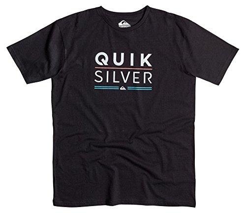 Quiksilver -  T-shirt - Maniche corte  - Uomo Nero  nero Medium