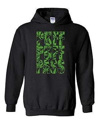 Xekia Puff Puff Pass Weed Marijuana Bong 420 Cannabis Unisex Hoodie Sweatshirt