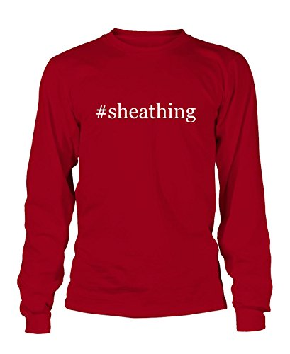 sheathing-hashtag-mens-adult-long-sleeve-t-shirt-red-small