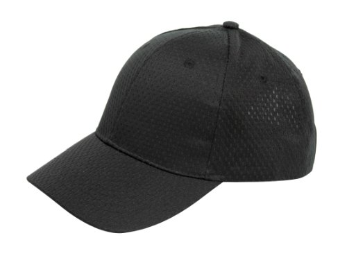 Simplicity Golf Mesh Baseball Cap W/ Visor For Outdoor Camping, Black2