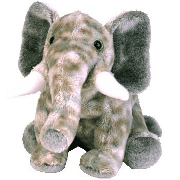 TY Beanie Baby - POUNDS the Elephant [Toy] - 1