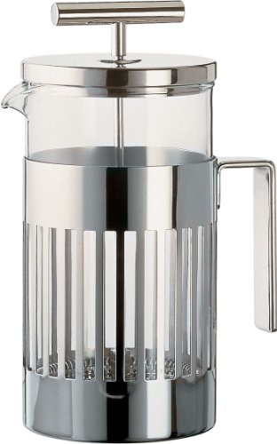 Alessi Press Filter Coffee Maker, 8 Cups, (9094/8)