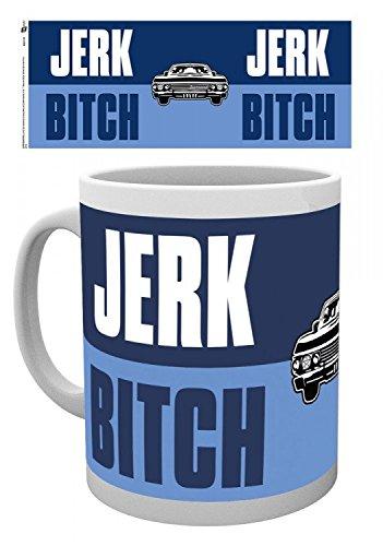 Supernatural - Jerk Bitch Tazza Da Caffè Mug (9 x 8cm)