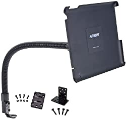 ARKON 22-Inch Seat Rail Floor Mount with Flexible Arm for iPad 3 (IPM388L22)