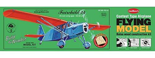 Guillow'S Fairchild 24 Laser Cut Model Kit