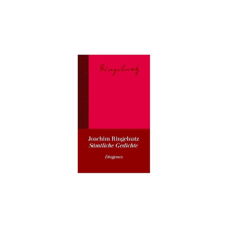 Sämtliche Gedichte Joachim Ringelnatz Bücher On Popscreen