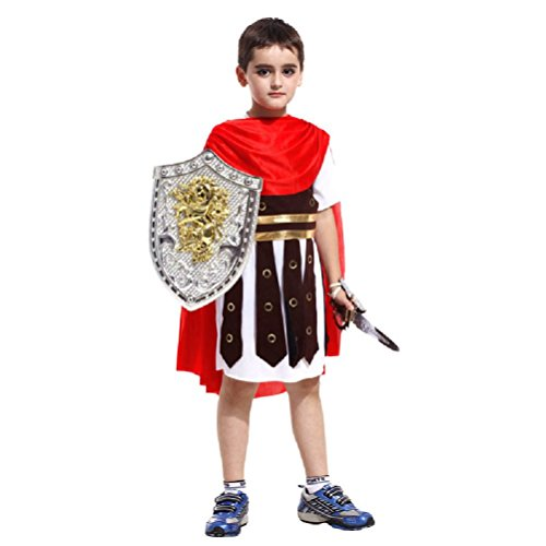 Purplebox Halloween Costume Cosplay Armor Warrior Prince Clothes For Children Rome