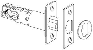 """Schlage 16-211 2 3/8"""" or 2 3/4"""" Replacement Deadlatch with Triple Faceplate Opti, Polished Brass"""