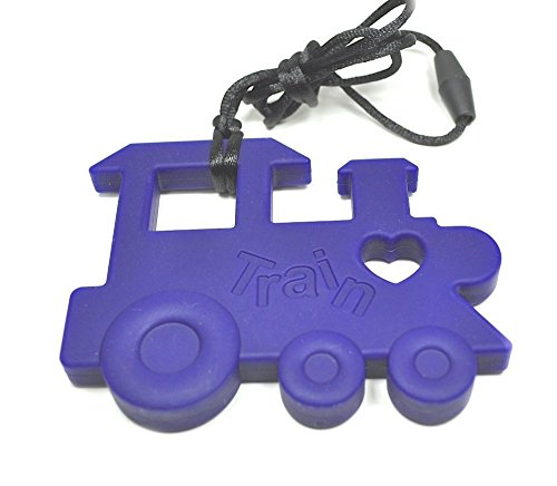 Silli Me Jewels: Train Teether Necklace for Mom to Wear and for Baby to Chew - 1