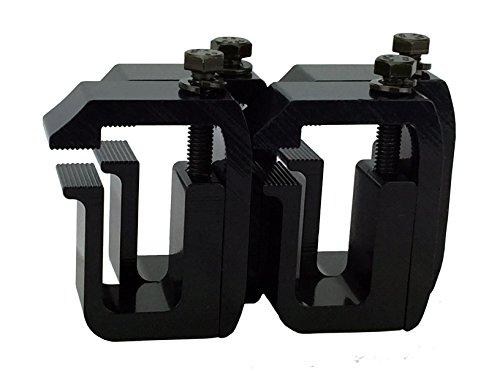 GCI Truck Cap / Camper Shell Clamps - Black Powder Coated (set of 4) (Toyota Tundra Camper Shell compare prices)