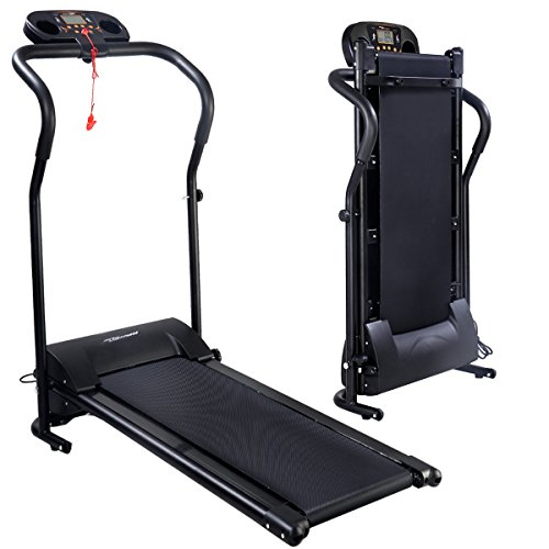 Gracelove [US STOCK] Black 800W Portable Folding Electric Motorized Treadmill Running Jogging Machine