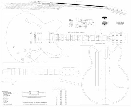 How to Plan to Build a Homemade Electric Guitar | eHow.com