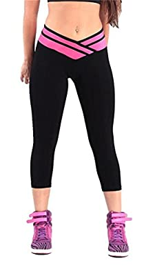 4How Women's Capri Workout Tights