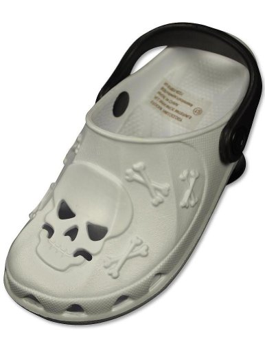 Private Label - Toddler Clogs, White, Black 29198-9Mustoddler