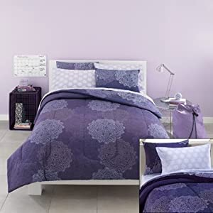Odessa Twin Extra Long Dorm Bedding Set Bed In A Bag