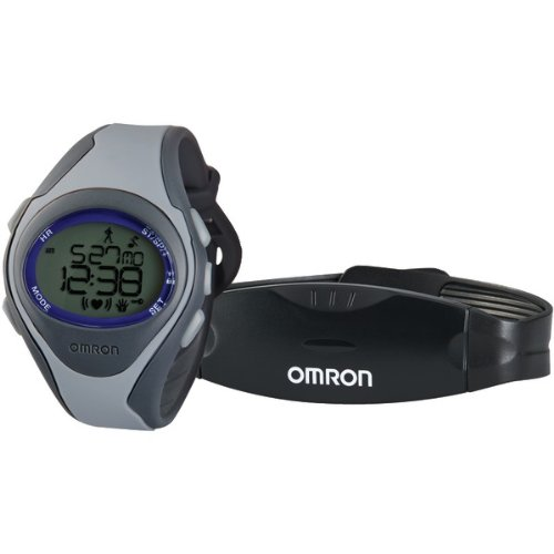 Image of OMRON HR-310 HEART RATE MONITOR WITH TAP-ON LENS (B00A9XKGFM)