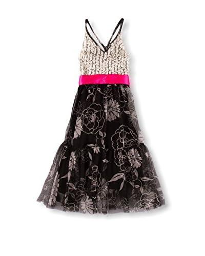 Mia Belle Baby Kid's Ruffled Maxi Dress