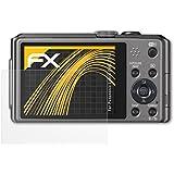 3 x atFoliX Protector de Pantalla Panasonic Lumix DMC-TZ41 - FX-Antireflex anti-reflectante
