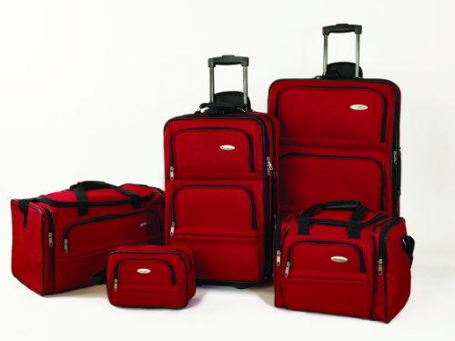 samsonite-5-piece-nested-luggage-set-red