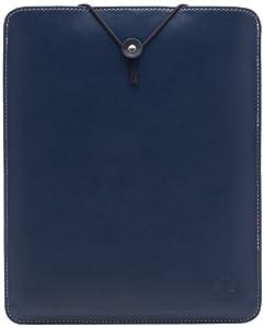 Simplism iPad / iPad 2 / iPad第3世代対応 レザースリーブケース ネイビー TR-LSCIPD12-NV