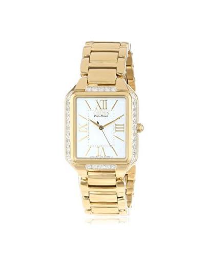 Citizen Women's EM0192-57A  Eco-Drive Ciena Diamond Bezel Watch