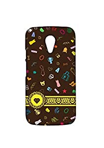 VDESI Designer Matte Back Cover For Motorola Moto G2 (2nd Gen) -21540096