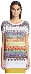 M Missoni Women's Dolman Top, White, 42 IT/8 US