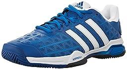 Adidas Barricade Club Men\'s Tennis Shoes Blue/White (9.5)