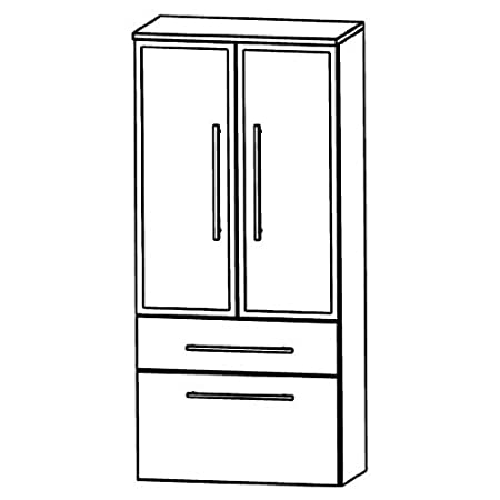 Puris Speed (MNA886B Bathroom Cabinet 60 CM