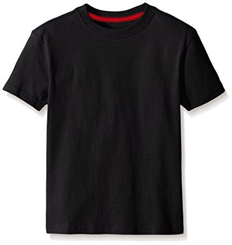 Scout + Ro Boys' Short Sleeve Core Tee, Black, 6