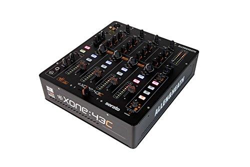 allen-heath-xone-43c-analogiques-de-mixage-a-4-canaux-avec-interface-audio-usb