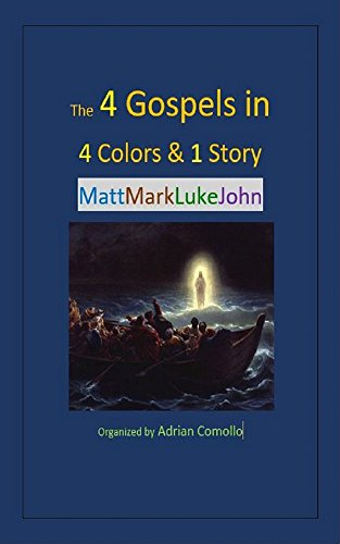 The 4 Gospels in 4 Colors & 1 Story (Color Coded Bible compare prices)